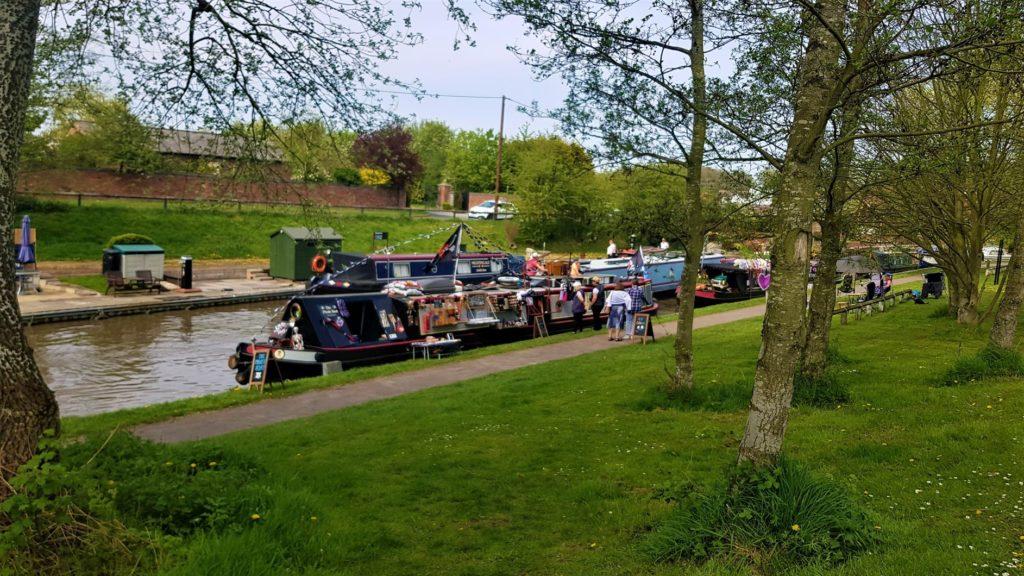 Canal market Northwich