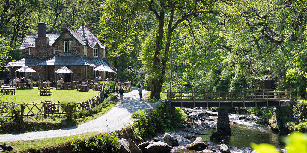 Tea rooms at watersmeet
