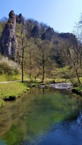 Dovedale bridge view