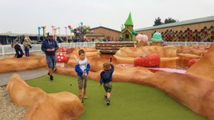 Crazy golf Chester