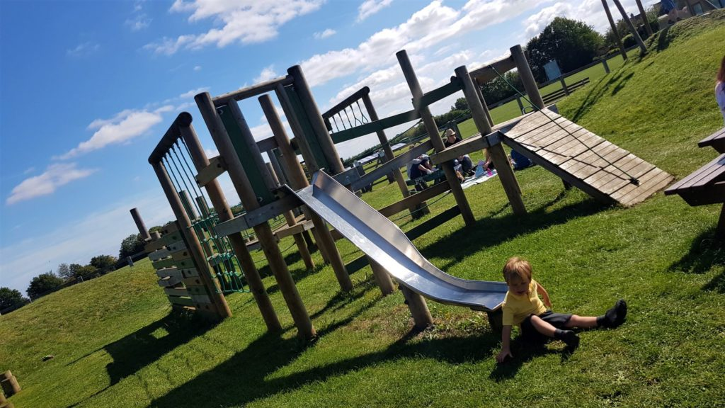Large play fram in stonesfield play park