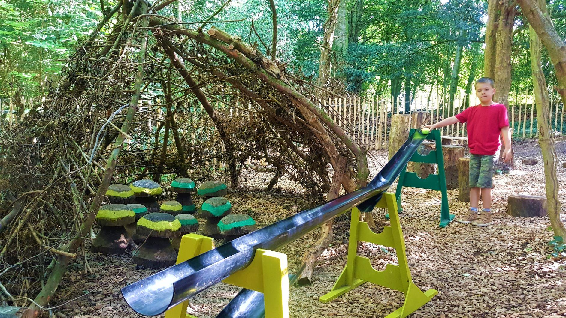 New Play area at basildon park