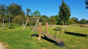 Seesaw and swings stanton harcourt