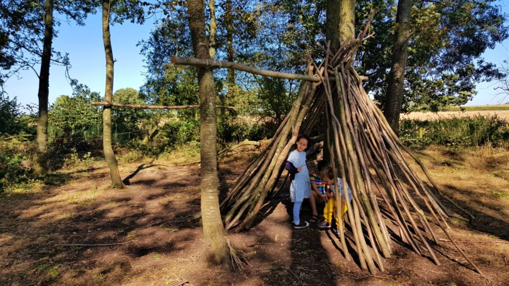 Den Building at Boarstall duck decoy