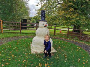 Snowman Milton keynes