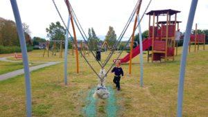 giant rope swing