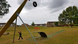 Thame zip wire