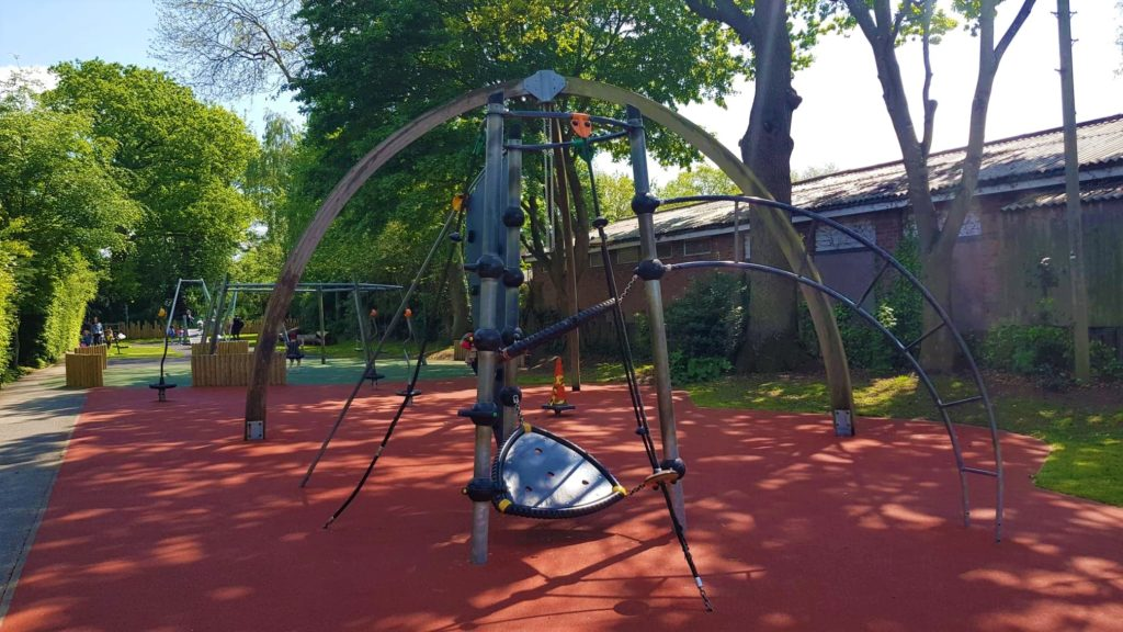 Older kids play area in Stratfor-upon-avon