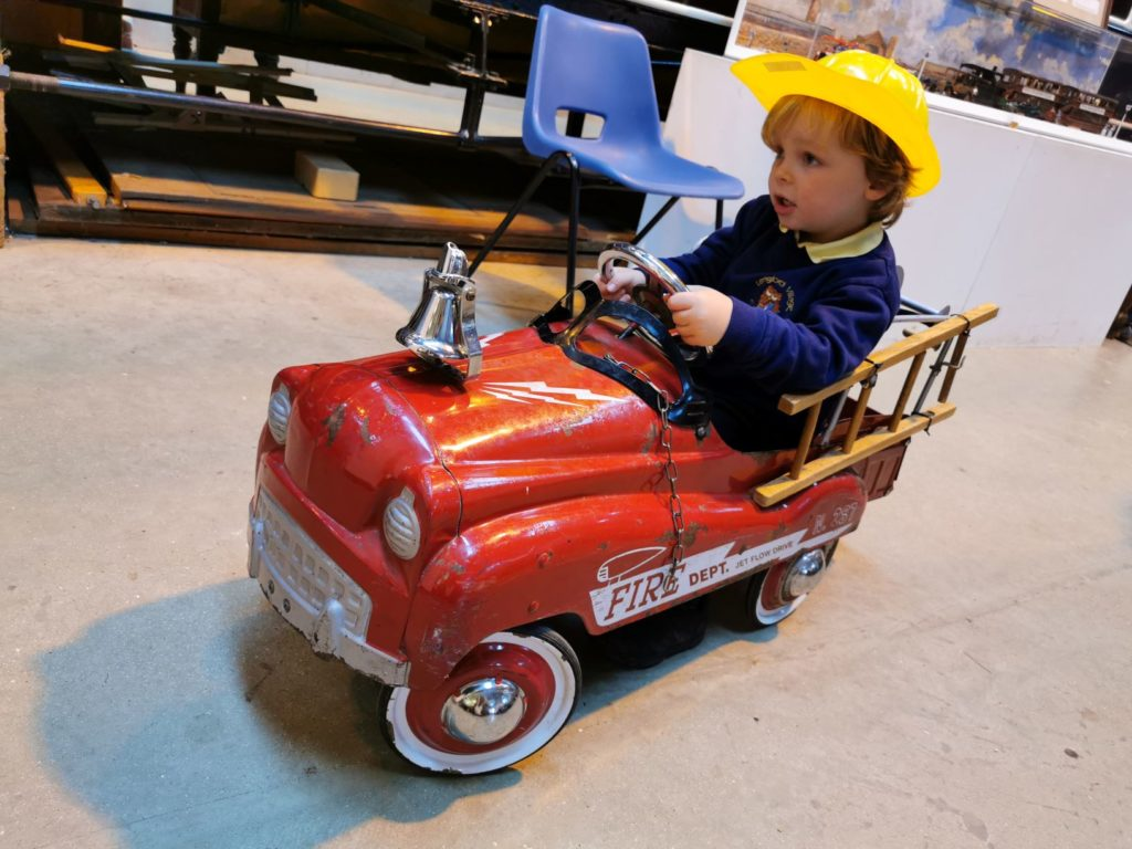 Vintage Ride On Fire Engine