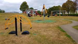 play equipment in thame play park