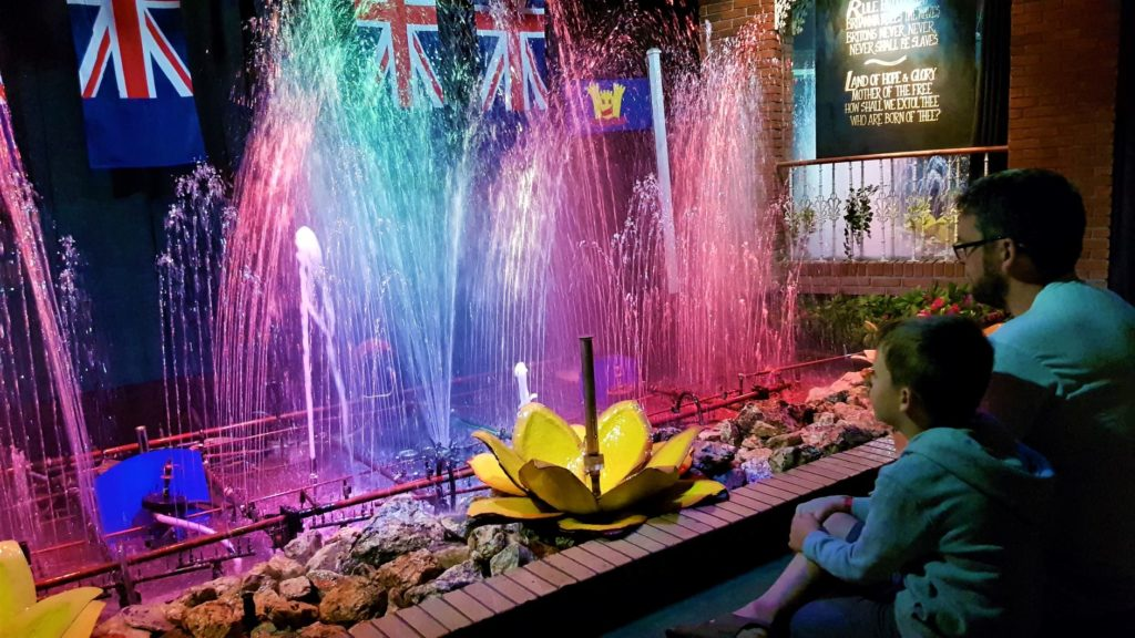 watermouth castle fountain show