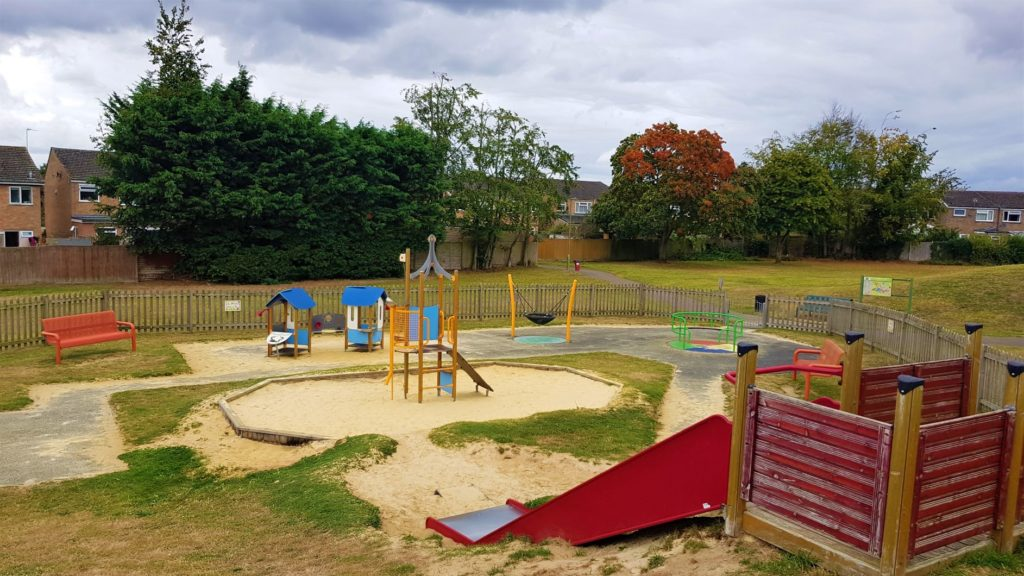 Toddler play area with sandpit Thame