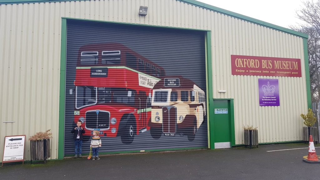 Oxford Bus Museum Annual family ticket
