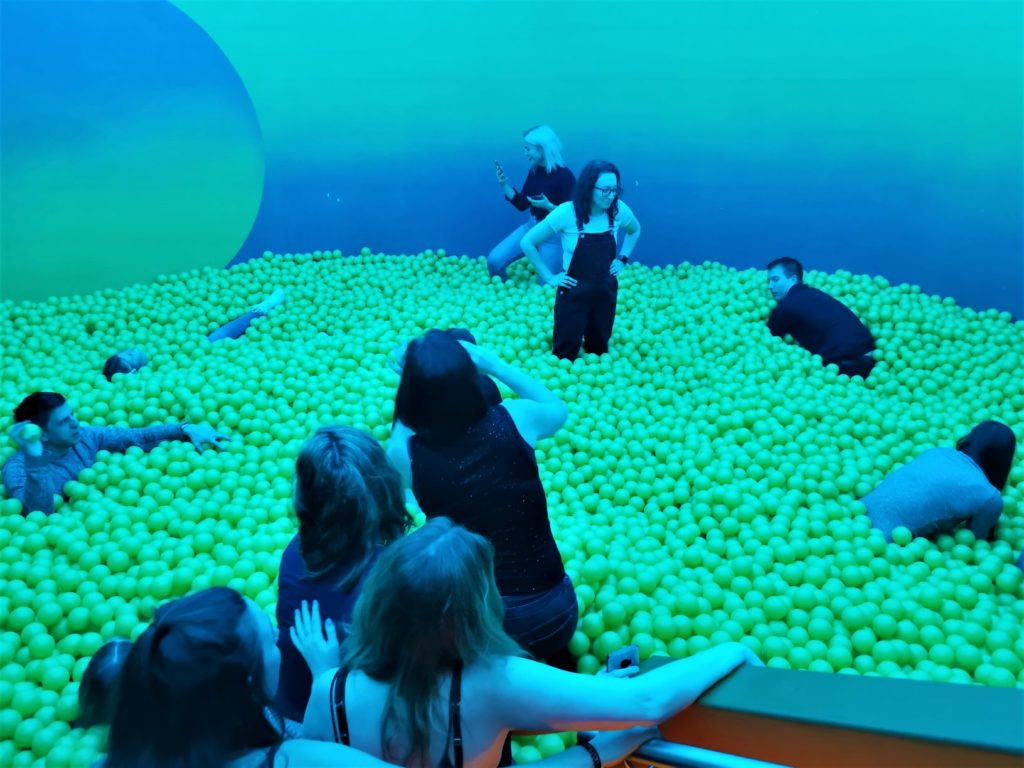 Adult ball pit london