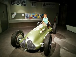 First ever bristish Grand Pix racing car