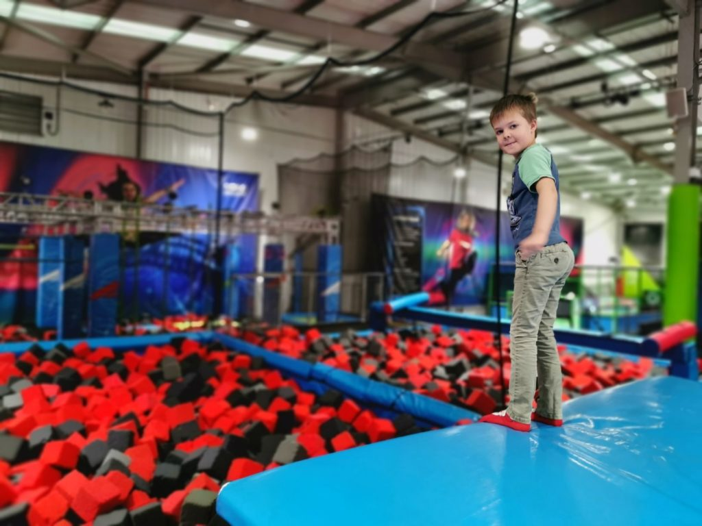 High Jump Rush Trampoline park