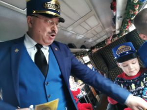 The conductor on the polar express