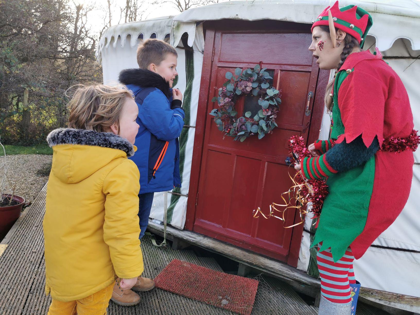 limes farm enchanted Christmas Farthinghoe