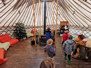 Elves workshop at limes farm