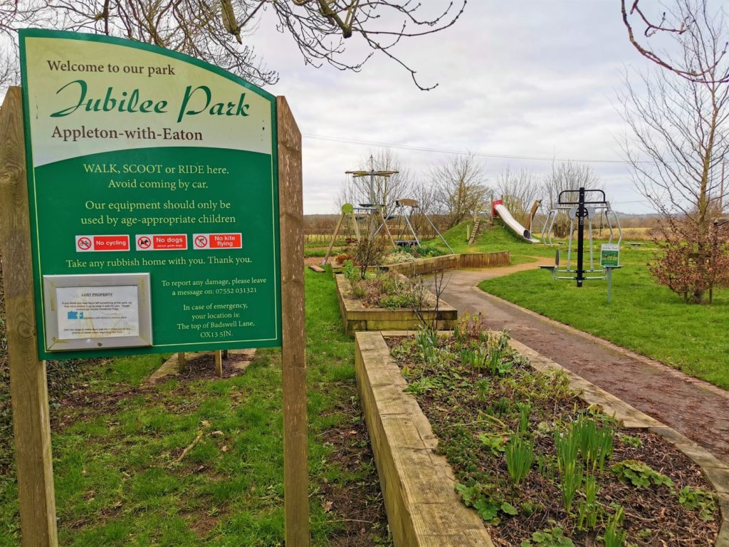 Jubilee play park Appleton