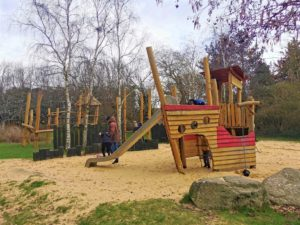 Milton Keynes pirate play park