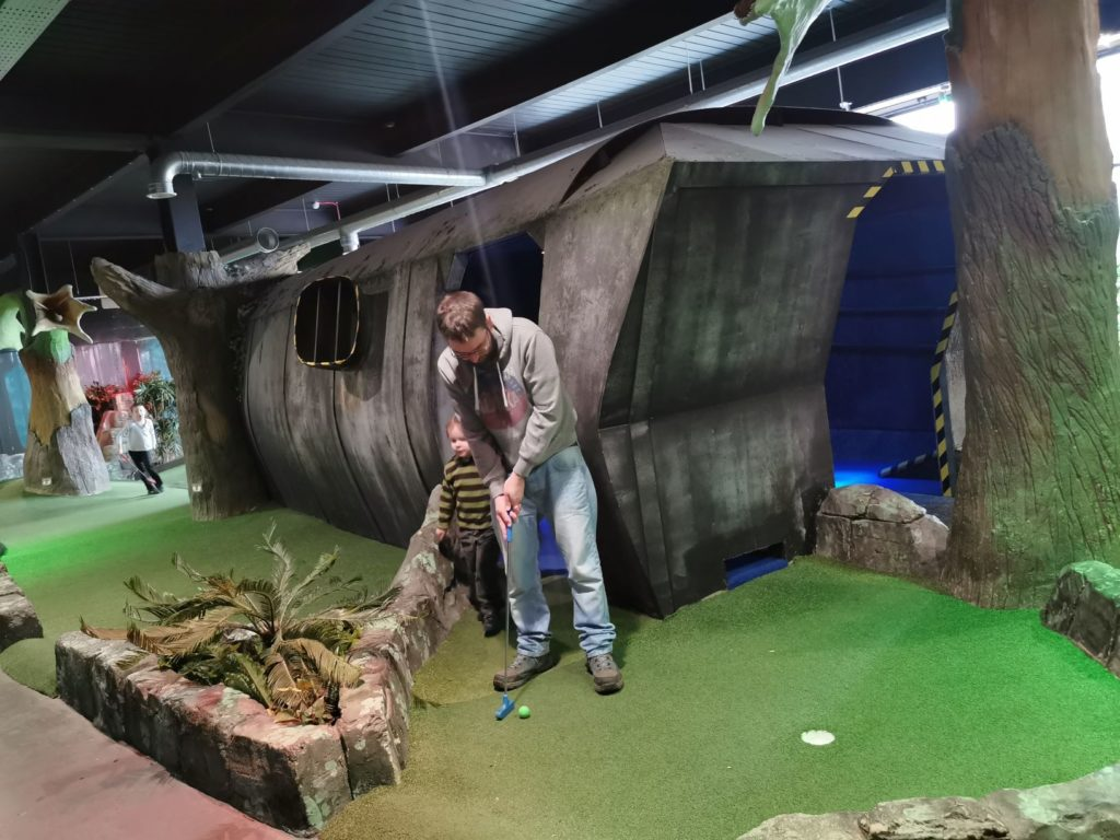 Crazy Golf Oxford