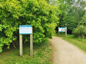 Wetkand trail marston forest vale