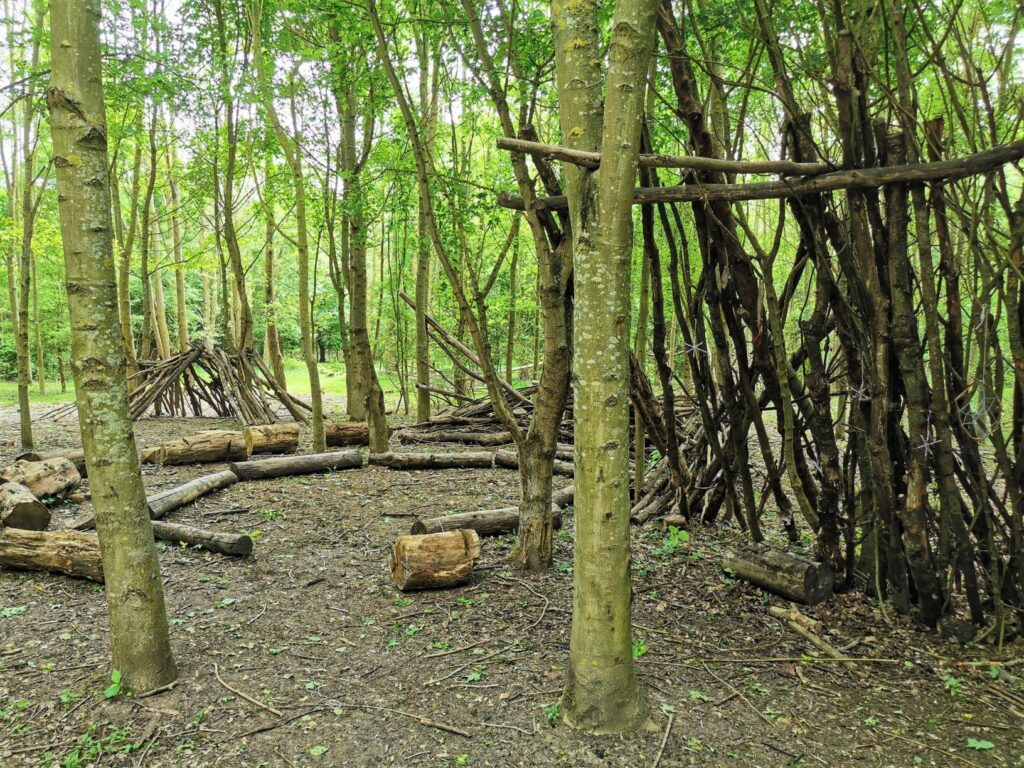 Forest Of Marston Vale den building