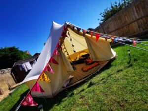 Bell Tent hire Oxfordshire