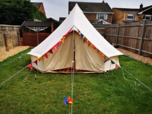 Oxfordshire bell tent hire