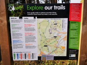 Cannock chase trails