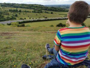 Aston rowant nature reserve views