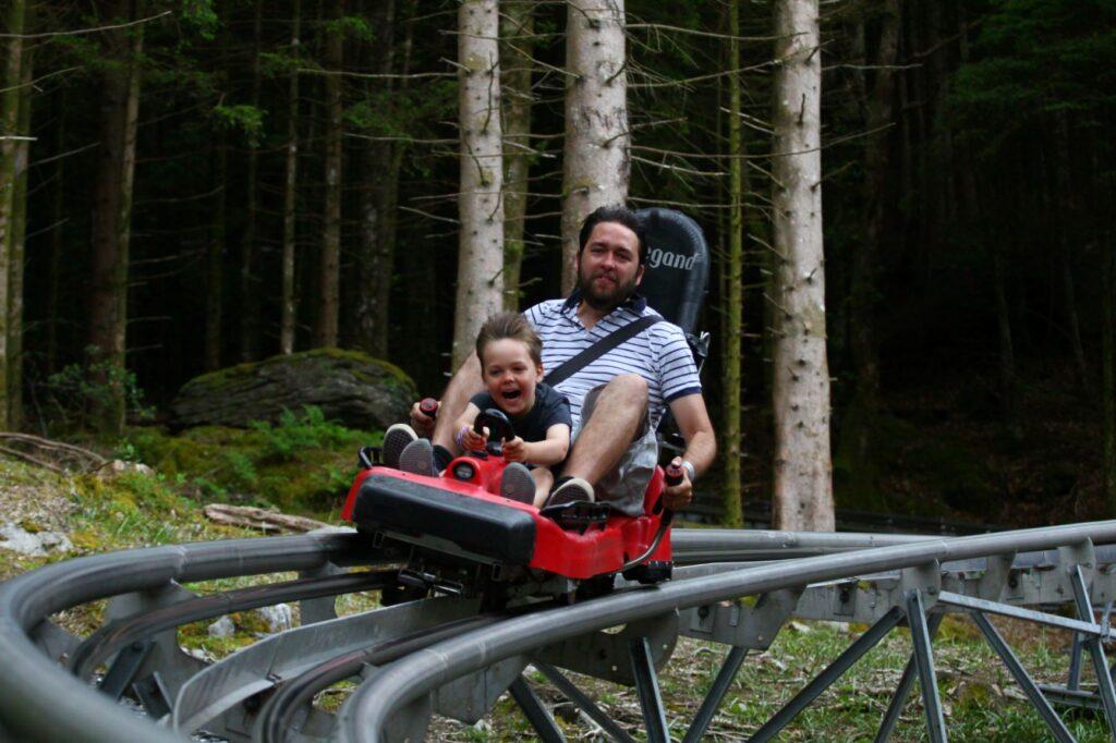 Zip wortl Fforest coaster