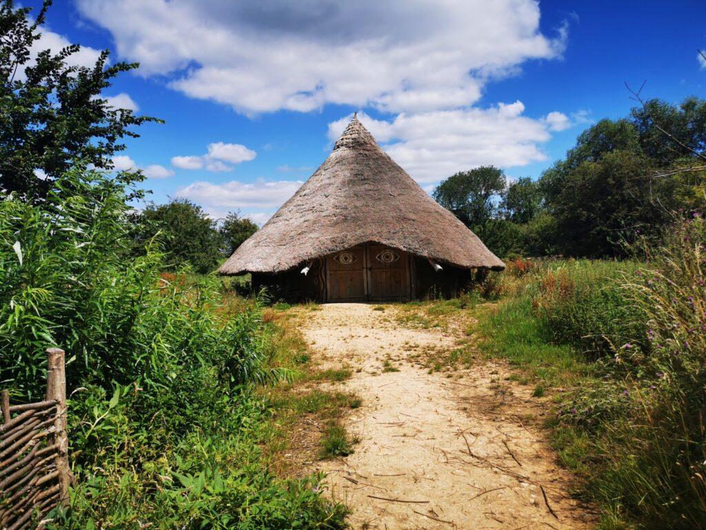 Iron age hut replica