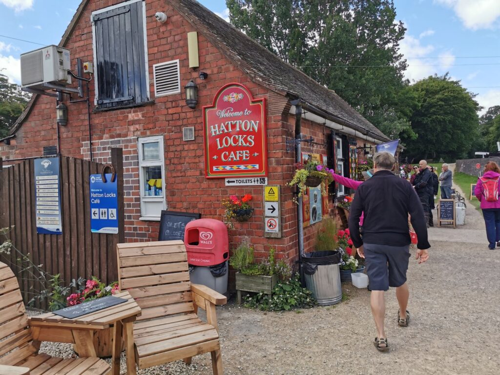 Hatton Locks Cafe