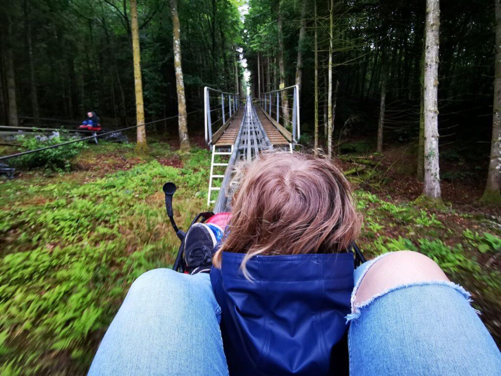 Zip Worlds Fforest Coaster