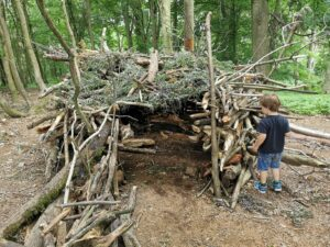 den building in CS Lewis nature reserve