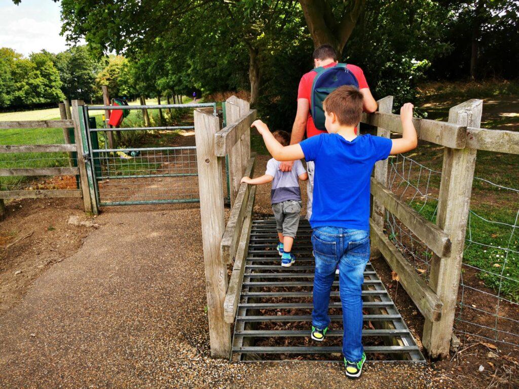 Iron Trunk aqueduct walk