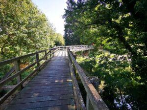 Wooden walkway Milton Keynes