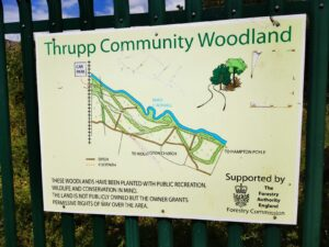 Thrupp community wood