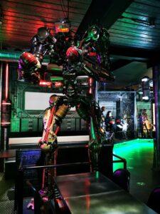 Milton keynes robots