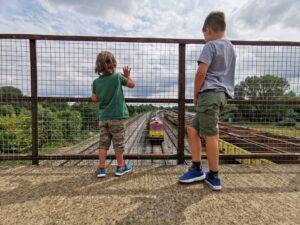 Train watching Oxford