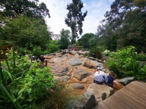 Childrens garden Kew