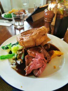 Sunday roast Oxfordshire