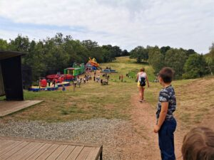 Habberley Trail inflatables